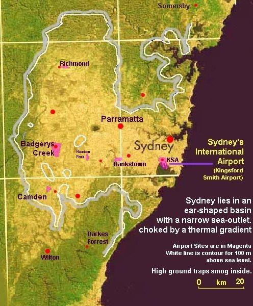 Air Pollution in Sydney Basin
